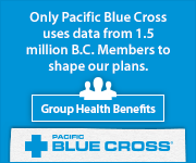Only Pacific Blue Cross uses data from 1.5 million B.C. Members to shape our plans | Group Health Benefits