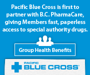 Pacific Blue Cross is first to partner with B.C. PharmaCare, giving Members fast, paperless access to special authority drugs.