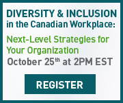 Diversity & Inclusion: in the Canadian Workplace Oct 25