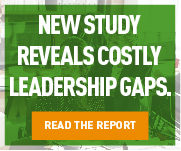 New Study Reveals Costly Leadership Gaps.