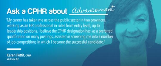 Ask a CPHR - Karen Petit
